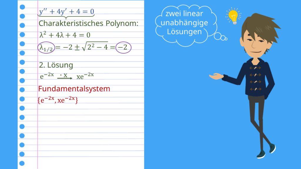 Charakteristisches Polynom berechnen
